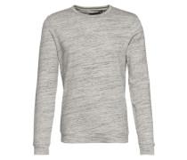 Sweatshirt 'Fedele' graumeliert