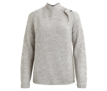 Strick-Cardigan Kabel grau