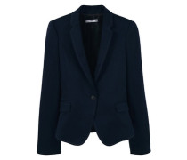 Blazer aus Baumwoll-Mix blau