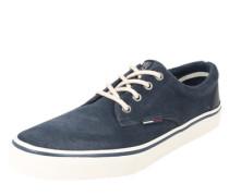 Sneaker mit Suede dunkelblau