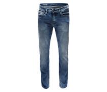 Jeans mit Slim Leg blau