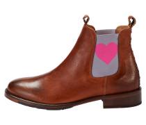 Chelsea Boot 'julia' mit pinkem Herz