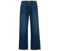 Kurz geschnittene Jeans blau / blue denim