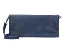 'Ronja' Clas Saddle 17 Clutch Tasche 29 cm blau
