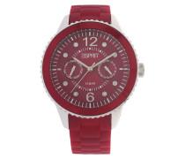 Armbanduhr Es105332013 rot