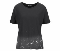 T-Shirt 'tewena' schwarz