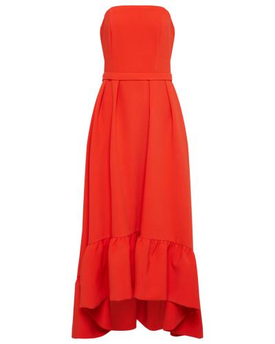 Kleid orangerot