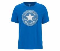 T-Shirt 'dots' blau