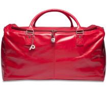 Weekend Reisetasche Leder 54 cm rot