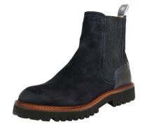 Chelsea Boots 'Flat' navy
