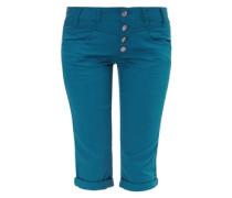 Capri aus Colored Denim blau / grün