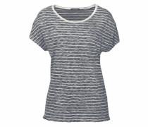 T-Shirt marine / hellgrau