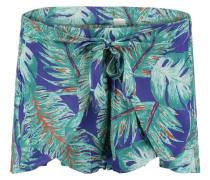 Shorts 'LW Tie Front Holiday' blau / grün