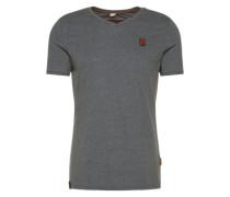 Shirt 'Schimpanski Viii' dunkelgrau