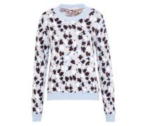 Pullover 'Cocolino' beige / hellblau / schwarz