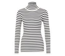 Pullover 'Doris' navy / weiß
