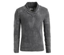 Pullover 'nikael' grau / dunkelgrau