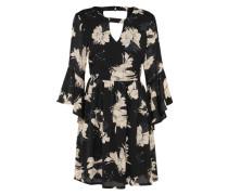 Kleid 'grass' schwarz