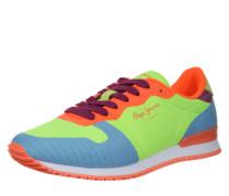 Sneaker Low 'Gable Twist' neongelb / mischfarben