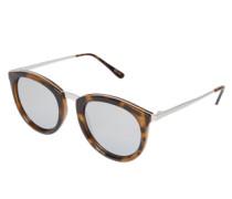 Sonnenbrille 'No Smirking' braun