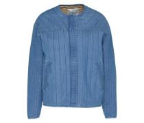 Gesteppte Jeansjacke 'adptlittl' blau