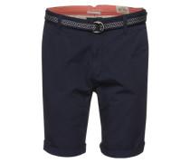 Chino-Shorts blau