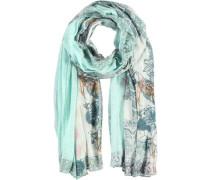 Modal Seiden Schal blau