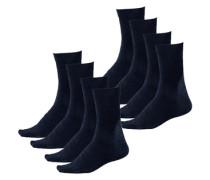 Socken H.i.s (8 Paar) blau / schwarz