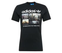 Print Shirt 'photo 1' mischfarben / schwarz