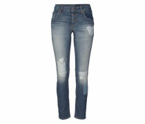 Jeans Boyfriend-Jeans »P08I« blue denim