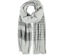 Viskose-Polyester Schal grau