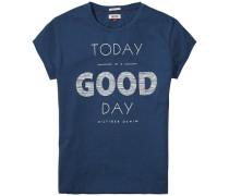 T-Shirt (mit Arm) 'thdw CN T-Shirt S/S 16' blau
