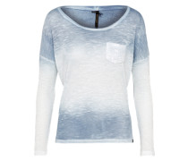 Shirt 'leonie' blau / weiß