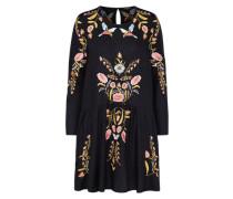 Kleid 'embro' mischfarben / schwarz