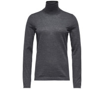 Pullover »Guvera Roll-Nk Swtr« dunkelgrau