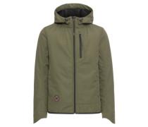 Übergangsjacke 'Softshell Jacket' oliv