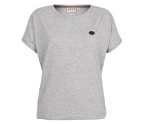 T-Shirt 'Schnella Baustella Iii' grau