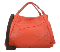 Peppina Handtasche Leder 38 cm rot