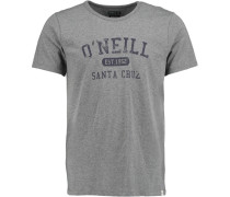 T-Shirt 'santa Cruz Melange' grau