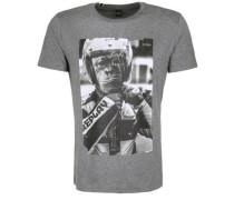 T-Shirt 'monkey' grau