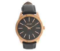 Armbanduhr 'Element Jp101112F07' gold / schwarz