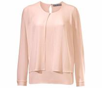 Bluse im Lagen-Look rosa