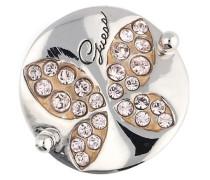 Damen Fingerring Metall Silber Ubr11303 beige / rosa / silber