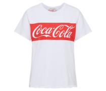 T-Shirt 'coke Tee' weiß