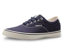 Leinen-Schuhe blau