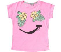 T-Shirt für Mädchen gelb / grün / pink