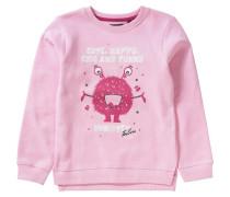Sweatshirt rosa / dunkelpink / schwarz / weiß