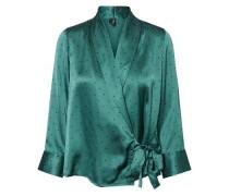 Bluse 'Henna Wrap' grün