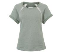 Sweat-T-Shirt grün