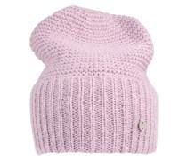 Beanie-Mütze 'CasKnit' lila